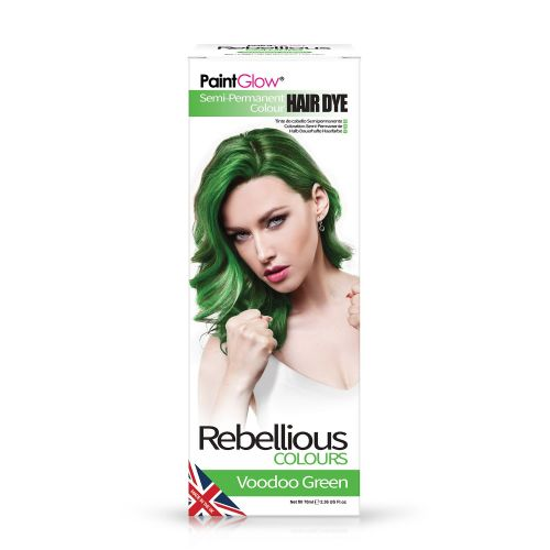 Voodoo Green - Semi Permanent Hair Dye 70ml